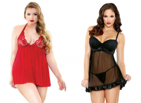 Drool Worthy Babydoll Lingerie for Both Curvy & Petite