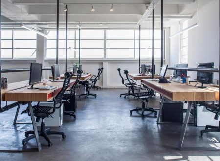 Give Industrial Style a Go in Your Workspace