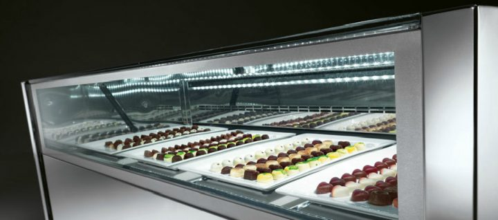 chocolate counter display