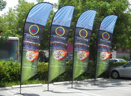Flag Banners for Promotion & Increased Visibility of Your Business