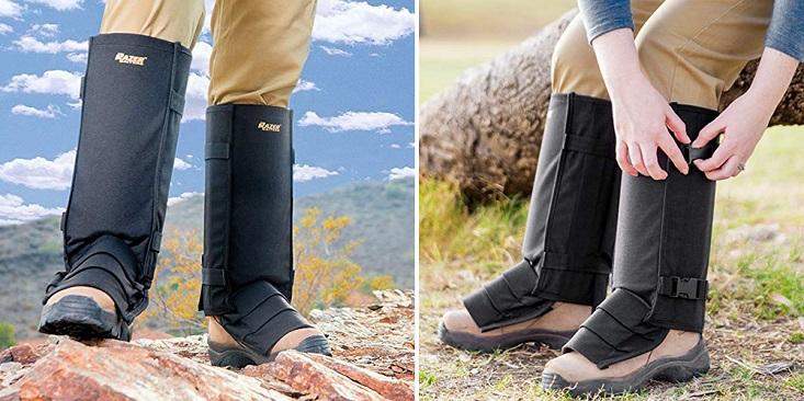 Design snake proof leg gaiters