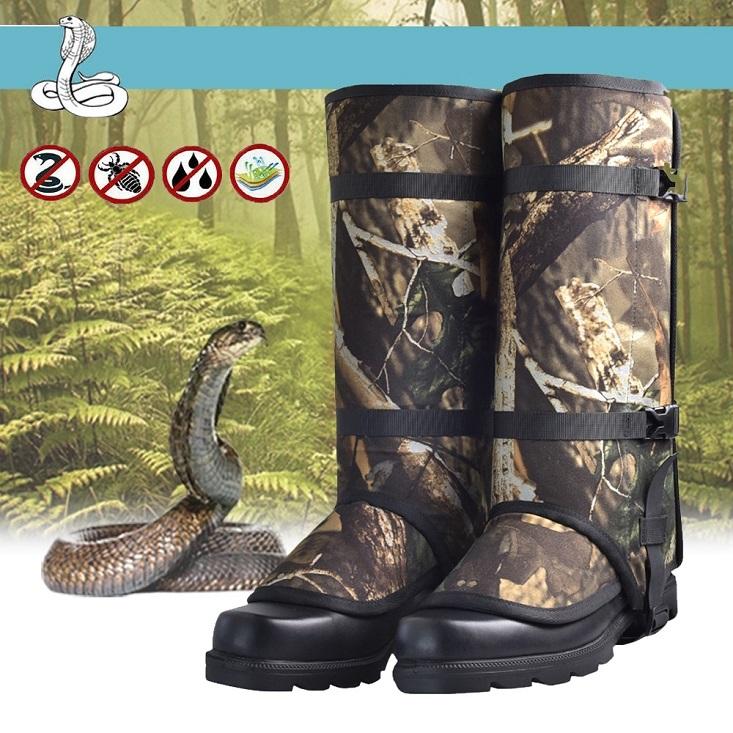 snake proof leg gaiters