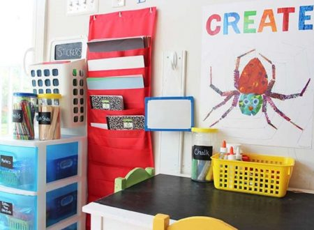 Here's What You Need to Set Up an Organised Art and Craft Space for Your Kids